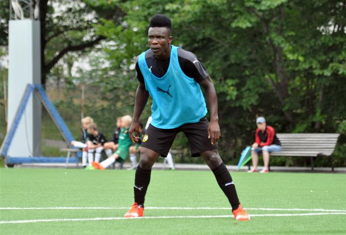 Inter Allies defender Joseph Aidoo wants to impress in loan stint at Hammarby to earn permanent deal