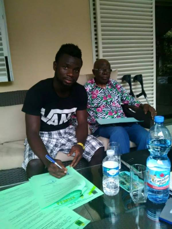 Confirmed: AshGold's Bernard Morrison signs for Congolese side AS Vita Club
