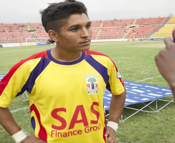 Shaun October set to stay at Hearts of Oak despite interests from Sundowns and Bloemfontein Celtic