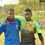 Hearts goalie Tetteh Luggard ruled out for a week with a thigh injury