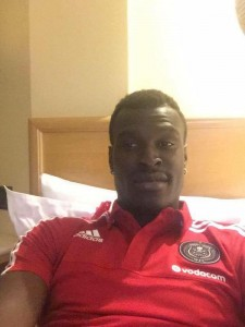 Ghana midfielder Edwin Gyimah set to complete Orlando Pirates move, trains with giants