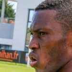 PHOTOS: Ghana striker Majeed Waris holds first training session with French club Lorient