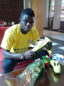 Medeama's Akwasi Donsu, the breakout star of 2015 MTN FA Cup
