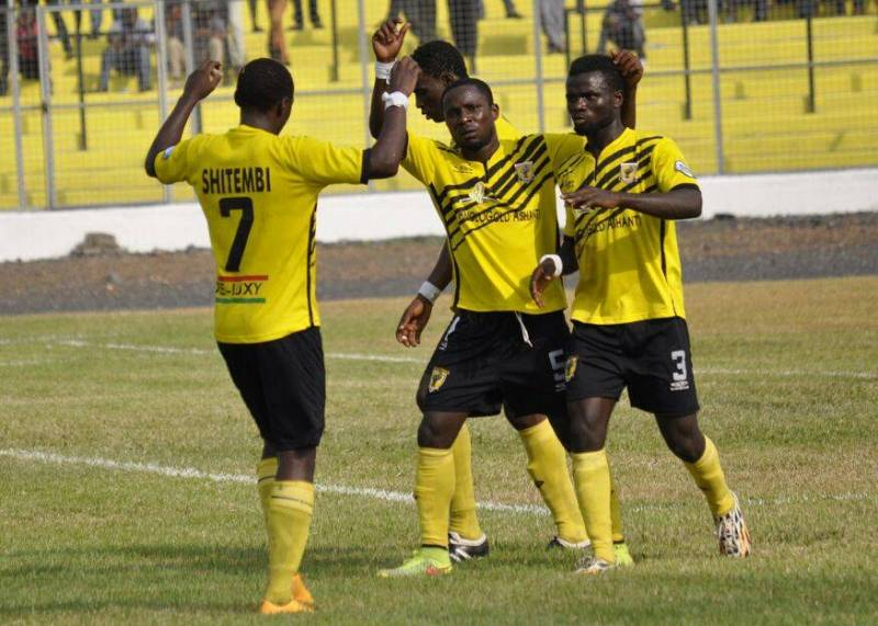 Match Report: AshantiGold 1-0 WAFA - Emmanuel Osei converts spot kick to clinch league title for Miners
