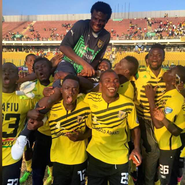 AshGold goalkeeper Fatau Dauda declares he is back to his best after guiding AshGold to historic league triumph
