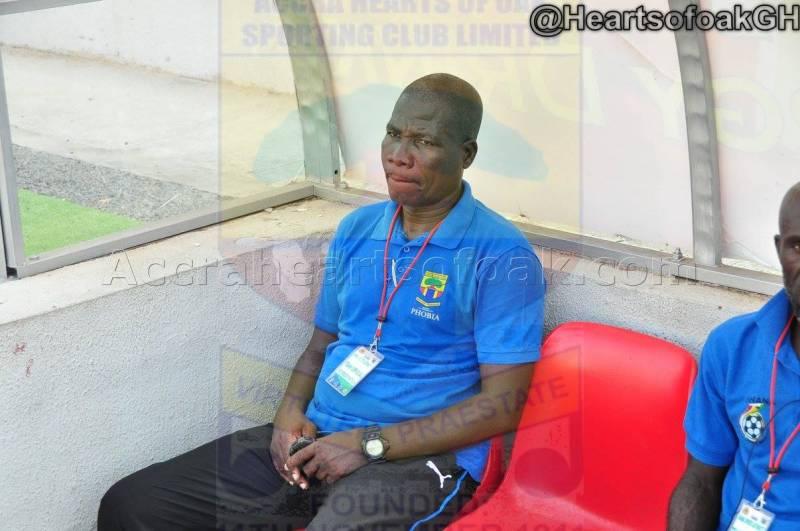 Hearts coach Eddie Ansah rubbishes Berekum Chelsea match-fixing claims