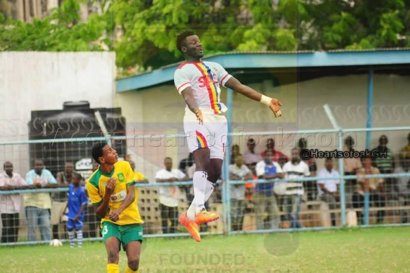 Hearts interim coach Eddie Ansah confident side will thrive against Berekum Chelsea without key duo