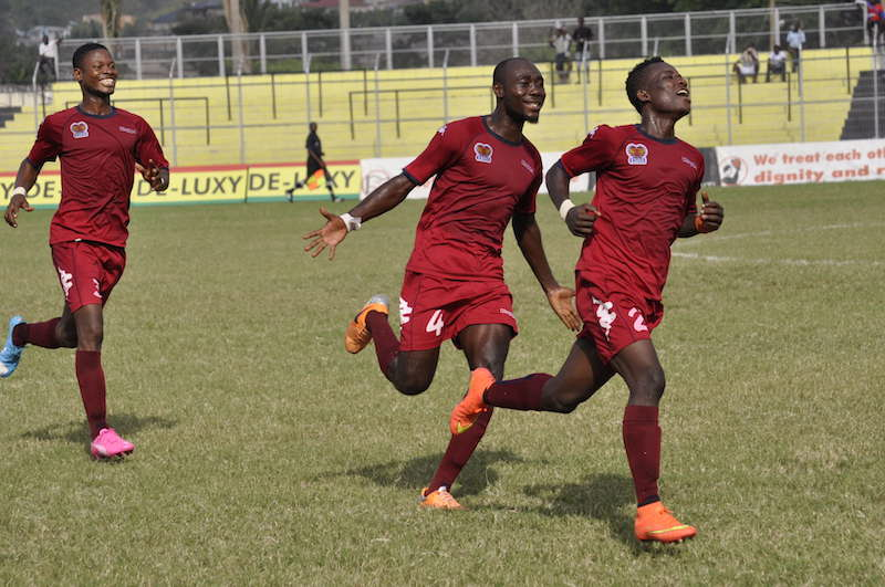 Match Report: Heart of Lions 2-0 Great Olympics - Giant Killers kill Wonder Boys' hopes in Kpando