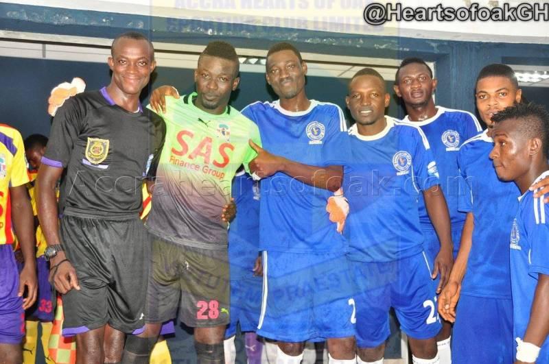 Hearts beat Berekum Chelsea 3-2
