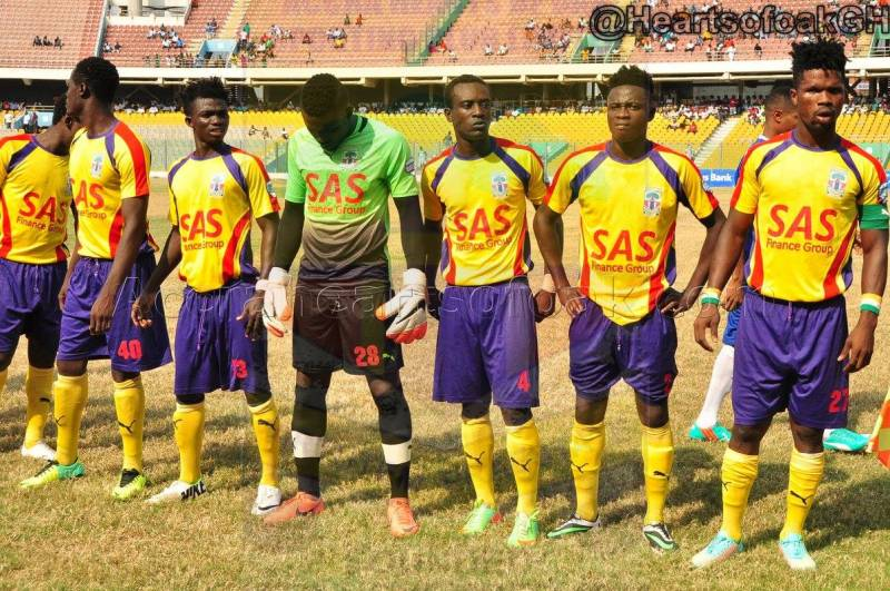 PHOTOS: Hearts beat Berekum Chelsea 3-2 in penultimate Ghana league clash