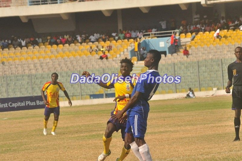 Midfielder Issah Mumuni returns from suspension to play in Hearts of Oak victory over Berekum Chelsea