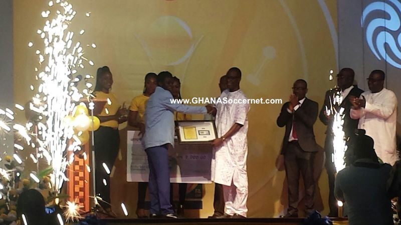 Kwesi Donsu: Medeama talisman wins 2014/15 MTN FA Cup Most Valuable Player