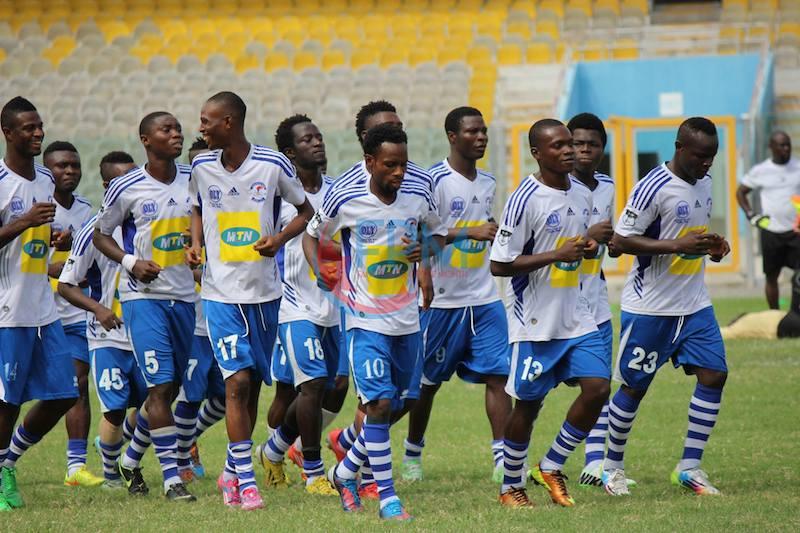 Match Report: Great Olympics 2-1 AshantiGold - Wonder Club demoted despite Doetse Agbashie late brace
