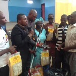 Asamoah Gyan Foundation registers members of the Ghana Blind Union onto National Health Insurance Scheme