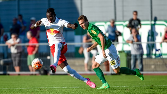 Ghanaian youth forward Ralph Dwamena scores to power Liefering to victory in Austria
