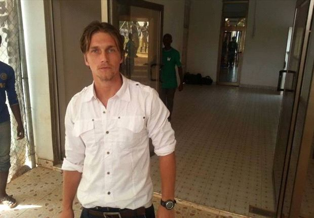 Medeama coach Tom Strand cools off links to Hearts of Oak