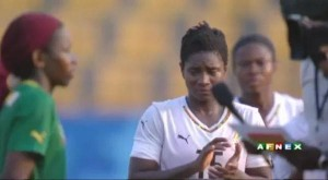 Video: Watch Ghana's Black Queens defeating Cameroon to win Gold at All African Games