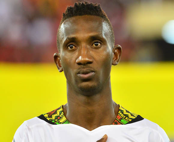 Harrison Afful topples Andre Ayew and Asamoah Gyan to win 2014 Sports Writers Footballer of the Year