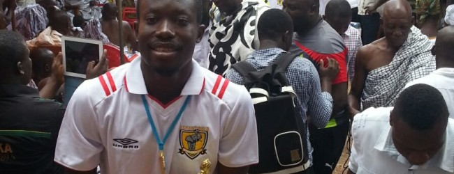 Eric Opoku commits his future to AshGold despite interest