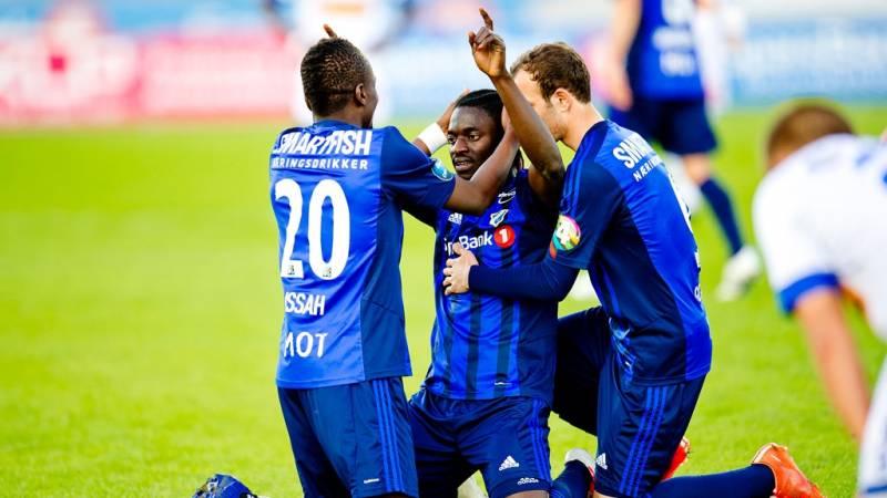 Ghanaian winger Ernest Asante resumes scoring for Stabaek in Norway