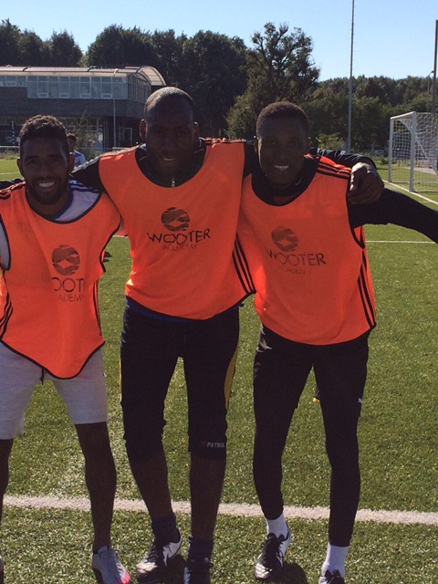 Liberty Professionals goalie Daniel Adjei training with Dutch side Wooter FC
