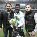 VIDEO: On-loan Joseph Aidoo wins Man-of-the-match on Swedish league debut with Hammarby IF