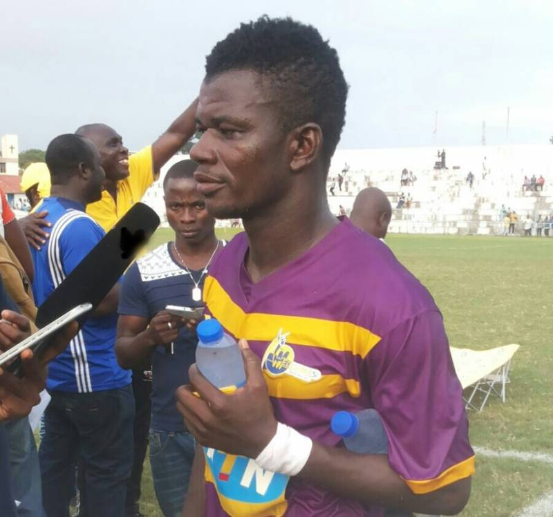 Kwasi Donsu uncertain about Medeama future amid Hearts interest