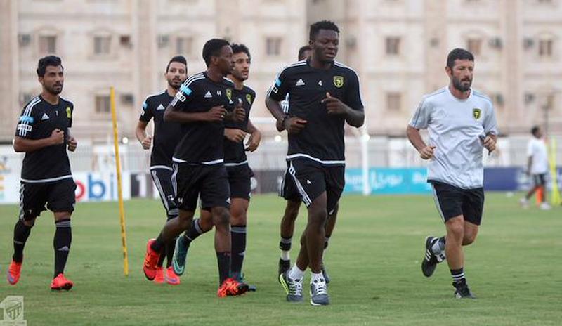 16eca61fbc6d Ghana ace Sulley Muntari returns to training with Al Ittihad Jeddah ...