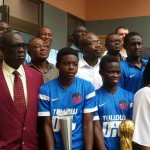 Right to Dream Academy present trophies to GFA Executive Committee after successful European tour