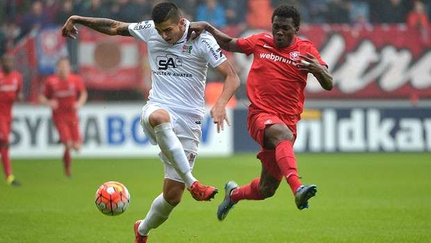 Talented Ghanaian youngster Thomas Agyepong makes full debut at FC Twente