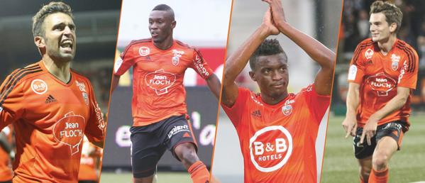 Ghana striker Majeed Waris vies for Lorient Player of the Month