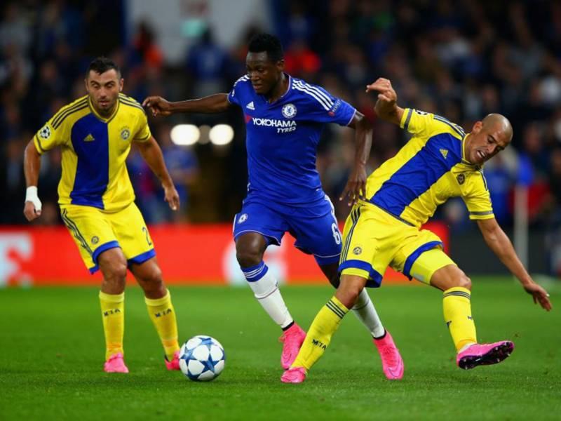 Ghana defender Baba Rahman named on Chelsea's bench against Southampton