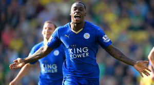 Ghana defender Jeffrey Schlupp scores to move Leicester City to fourth in England