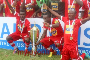 Donkor free-kick earns Duncan his first Kotoko trophy as Porcupines defeat AshGold to win SWAG Cup