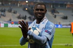 UEFA Champions League: Adu Kofi confident of Malmoo FF triumph over PSG