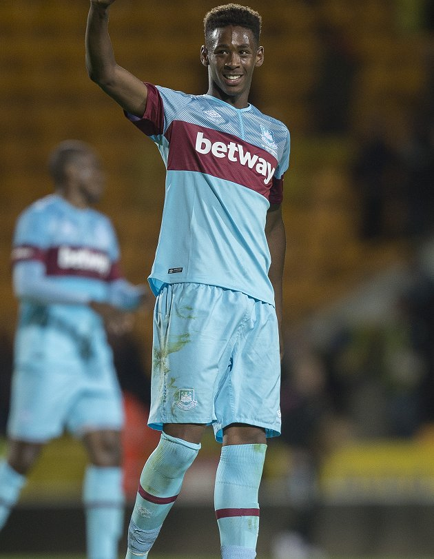 ​Hammers nuturing young star Oxford to prepare him for Premier League action