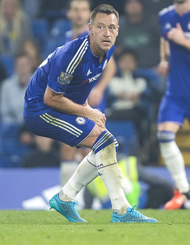 Chelsea captain John Terry fears he's out of Spurs clash