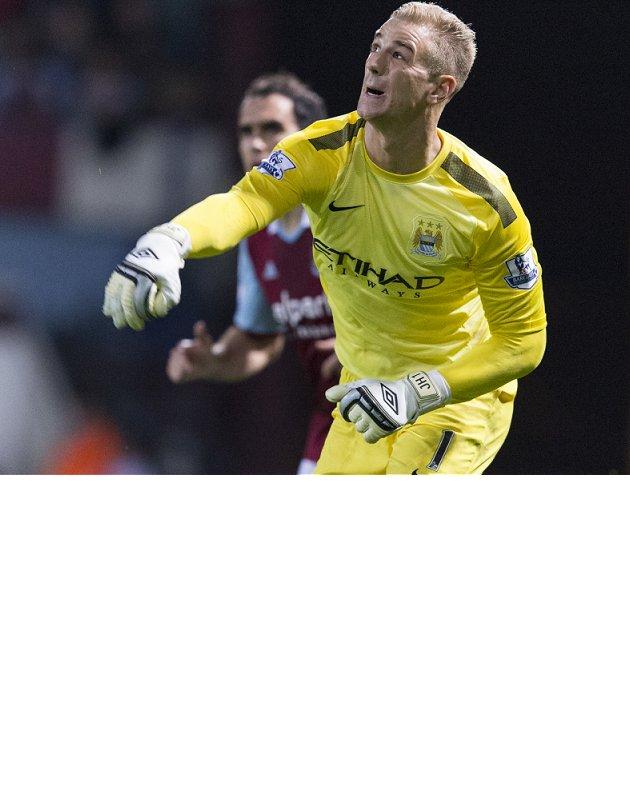 Man City boss remaining upbeat despite Hart injury