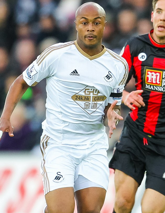 Andre Ayew: Swansea playing style was transfer factor