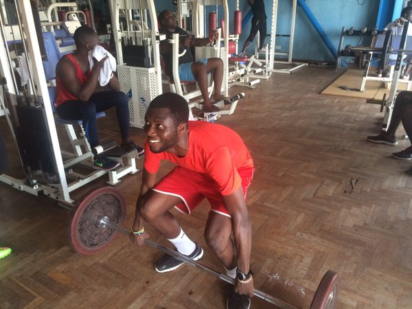 PHOTOS: Inter Allies at the Accra Sports Stadium gym