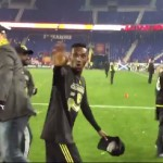 VIDEO: Watch Harrison Afful celebrate Columbus Crew's MLS Conference feat