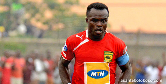 President Cup: Kotoko captain Amos Frimpong eyes revenge against Hearts