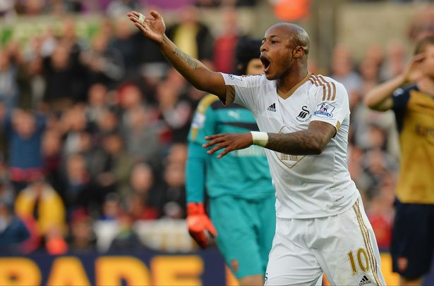 Swansea City canvassing votes for Andre Ayew to win 2015 BBC African Footballer of the Year award