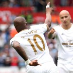 VIDEO: Ghana ace Andre Ayew scores cheeky back-heel goal to help Swansea hold Bournemouth