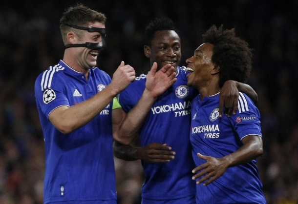 UEFA Champions League: Ghana's Baba Rahman excels for Chelsea as English giants brush aside Maccabi Tel Aviv