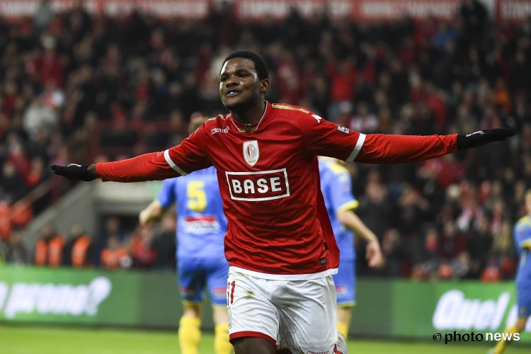 Ghana youth forward Benjamin Tetteh shakes off minor injury to warm Standard Liege bench in Waregem triumph