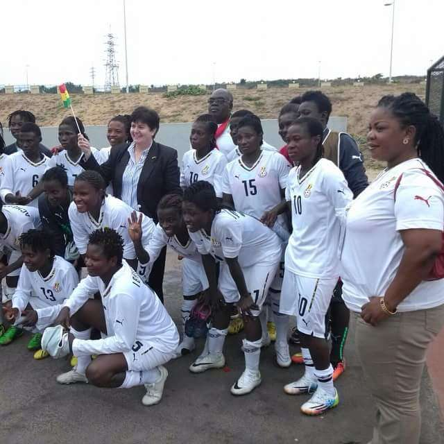 Twenty-five (25) Black Queens players preparing for Japan friendly on 1 April
