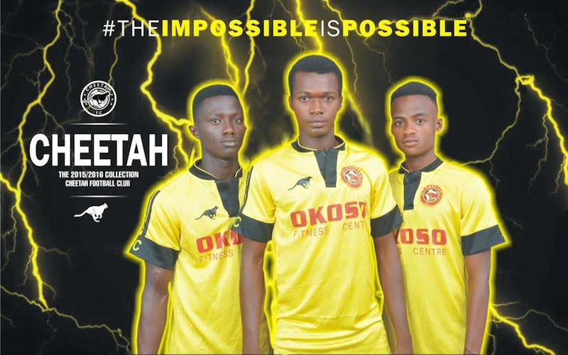 Third-tier side Cheetah FC to unveil new kits for 2015/2016 season