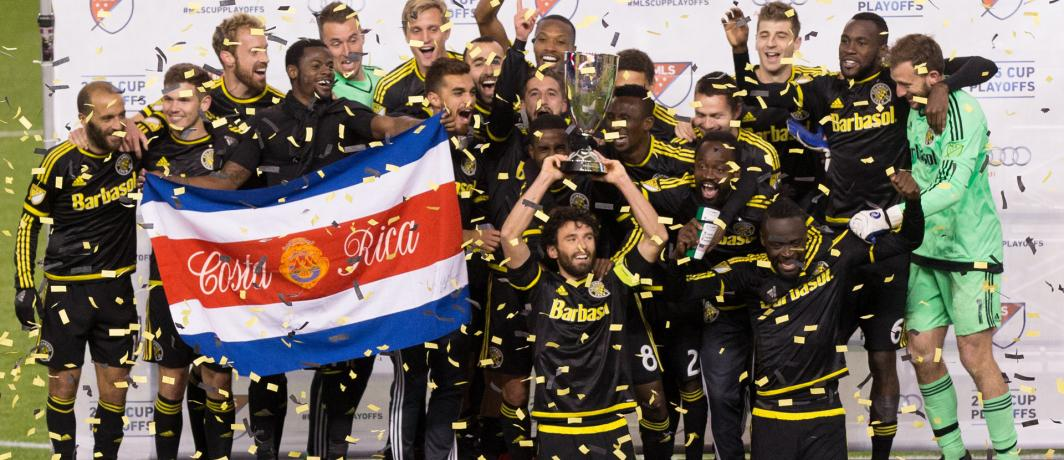 Harrison Afful wins MLS Eastern Conference Championship with Columbus Crew