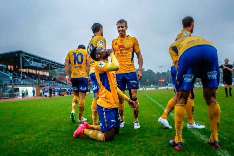 Ghanaian striker Dennis Antwi scores but not enough for Jerv in Norwegian league playoffs